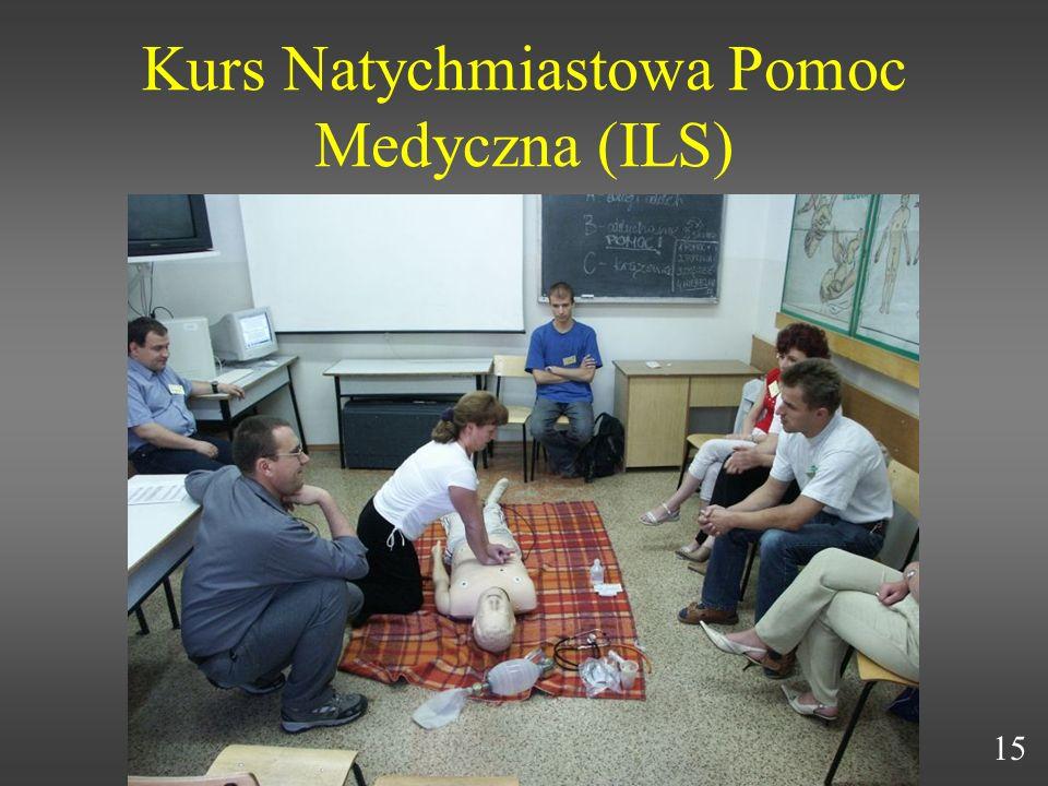 Kurs Natychmiastowa Pomoc Medyczna (ILS)
