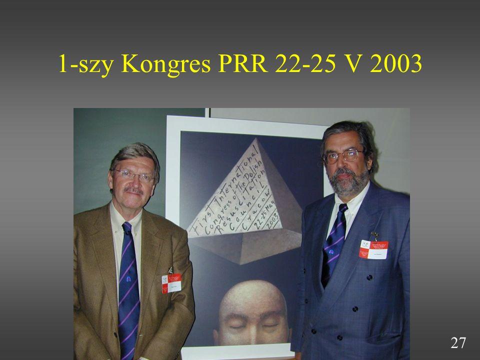 1-szy Kongres PRR 22-25 V 2003