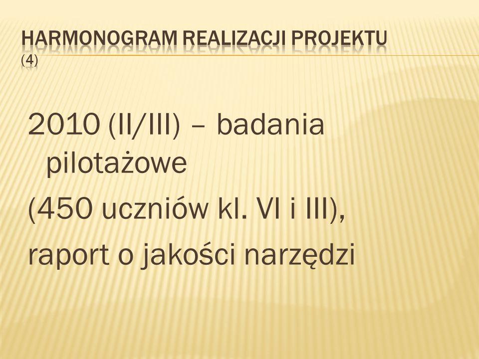 Harmonogram realizacji projektu (4)