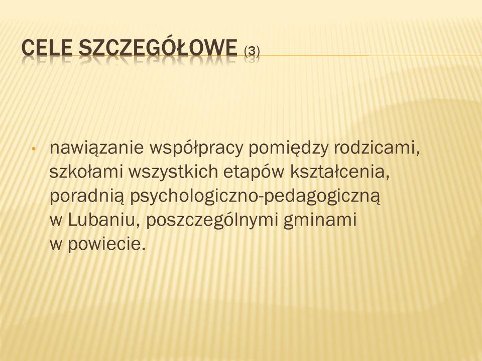 Cele szczegółowe (3)