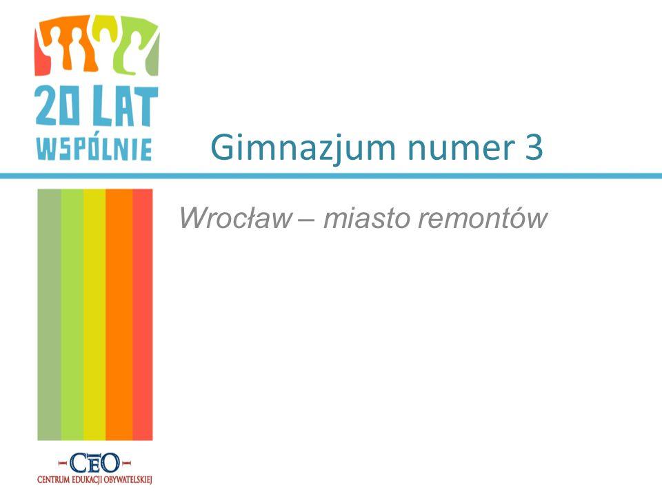 Wrocław – miasto remontów
