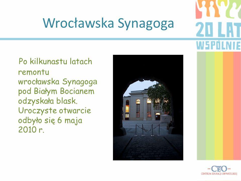Wrocławska Synagoga