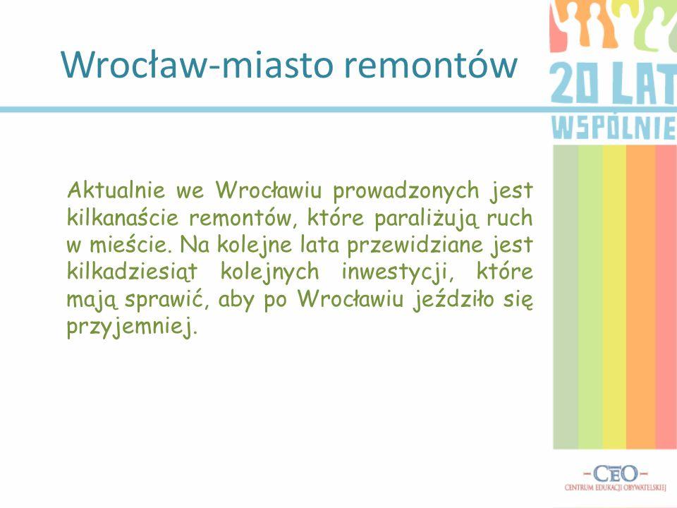 Wrocław-miasto remontów