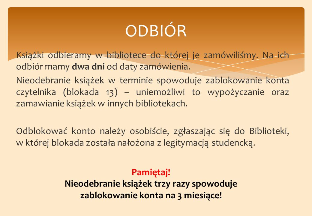 ODBIÓR
