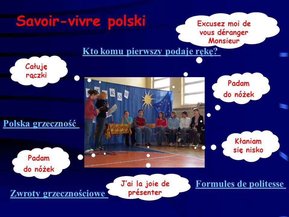 Savoir-vivre polski Kto komu pierwszy podaje rękę Polska grzeczność