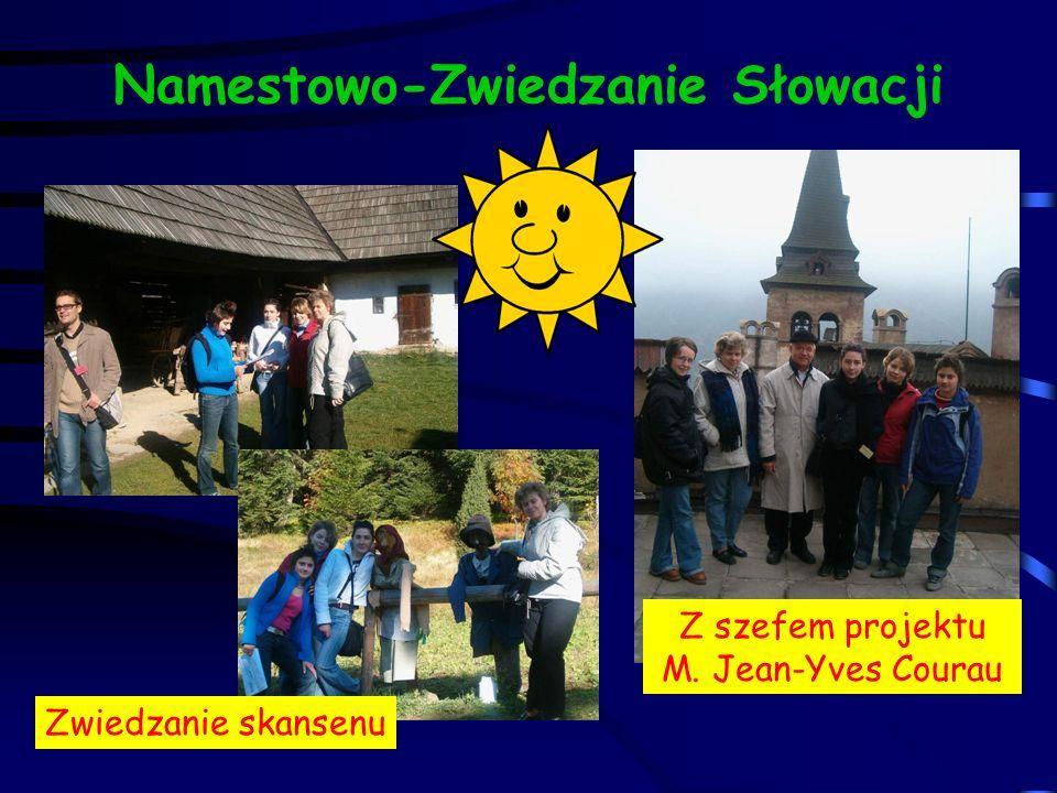 Namestowo-Zwiedzanie Słowacji