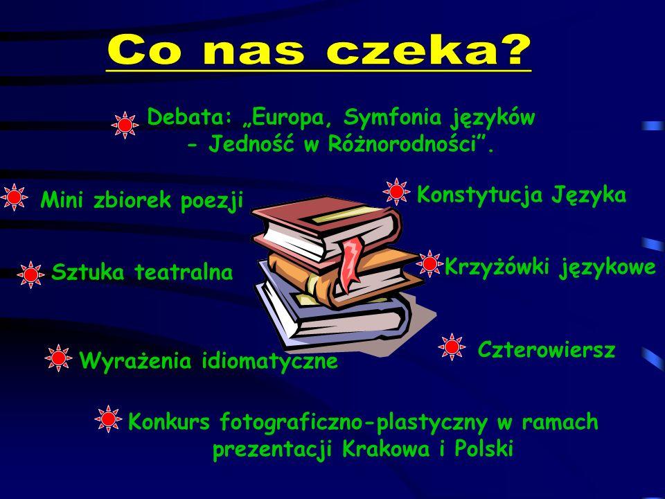 """Co nas czeka Debata: """"Europa, Symfonia języków"""