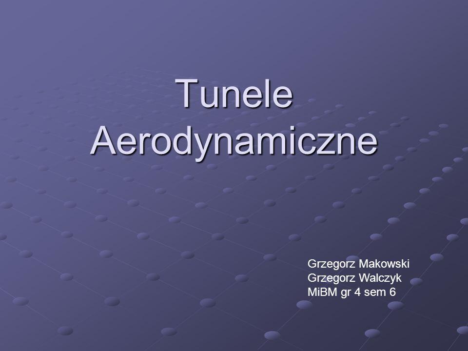 Tunele Aerodynamiczne