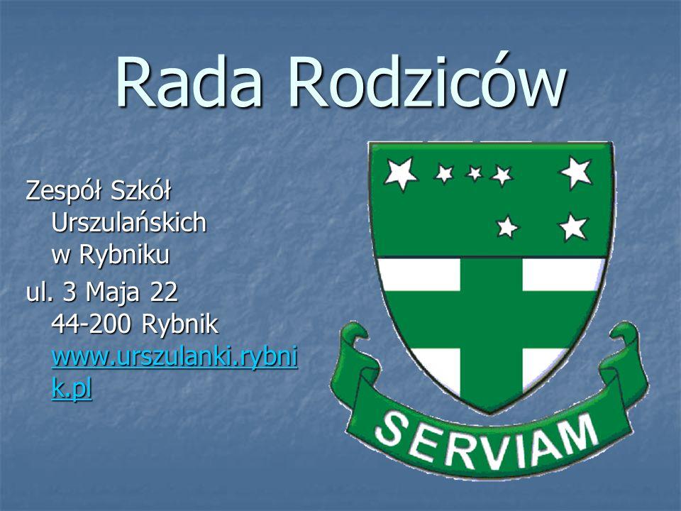 Rada Rodziców Zespół Szkół Urszulańskich w Rybniku