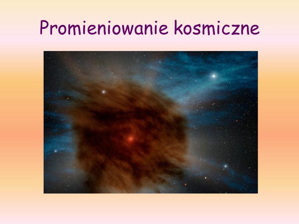 Promieniowanie kosmiczne