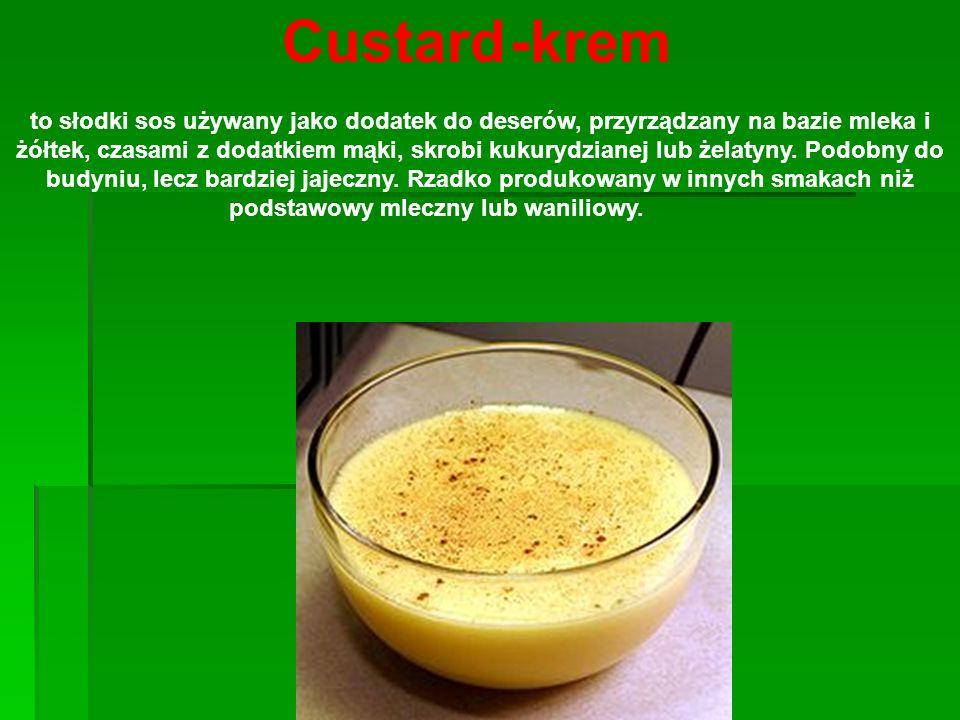 Custard -krem