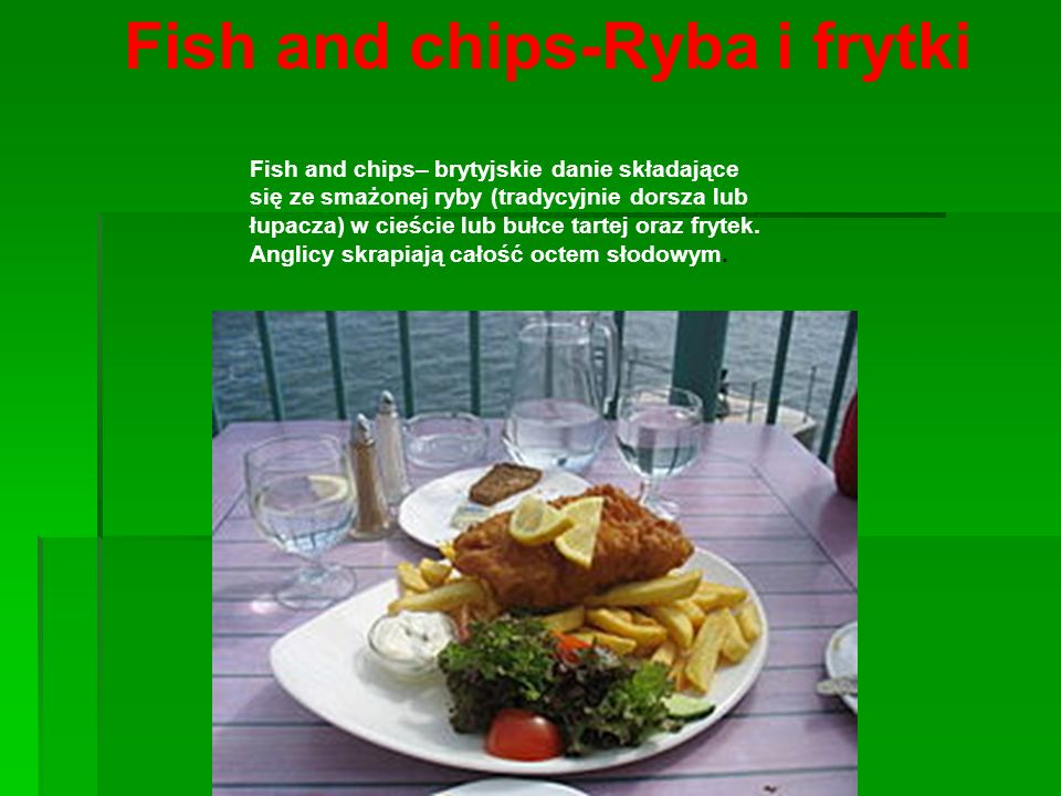 Fish and chips-Ryba i frytki