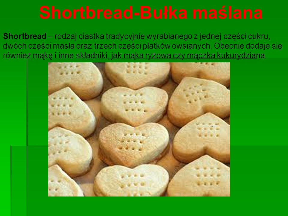 Shortbread-Bułka maślana