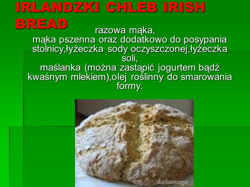 IRLANDZKI CHLEB IRISH BREAD