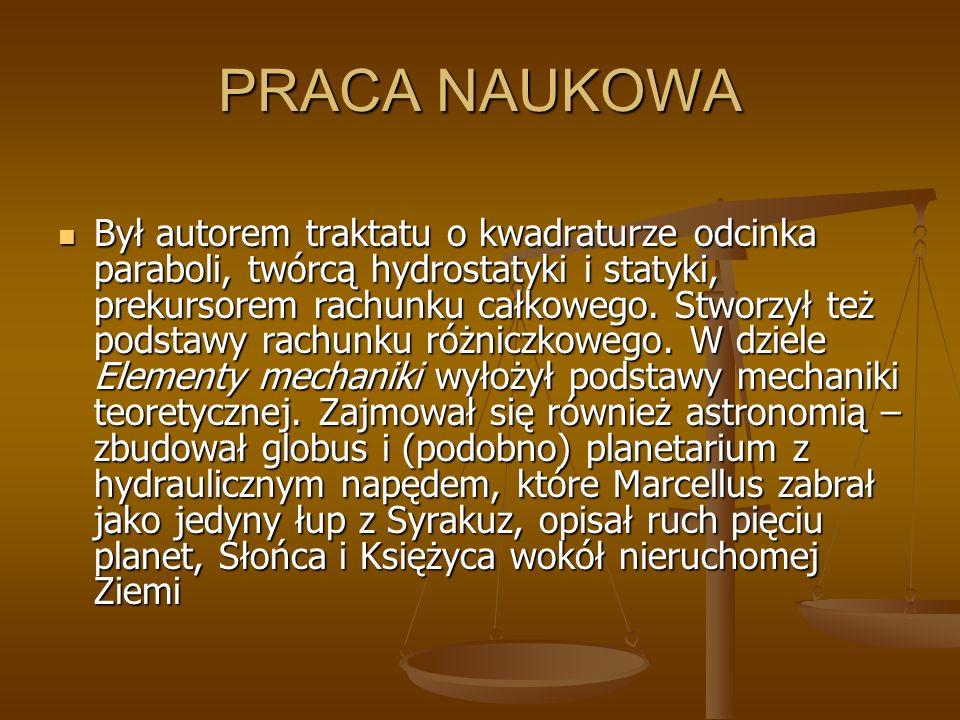 PRACA NAUKOWA