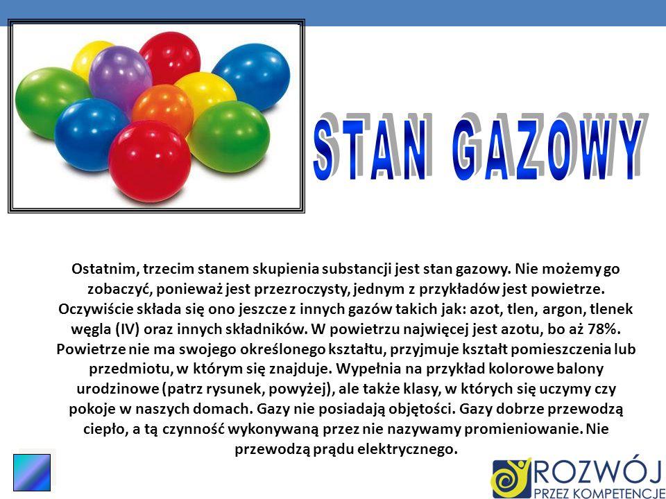STAN GAZOWY