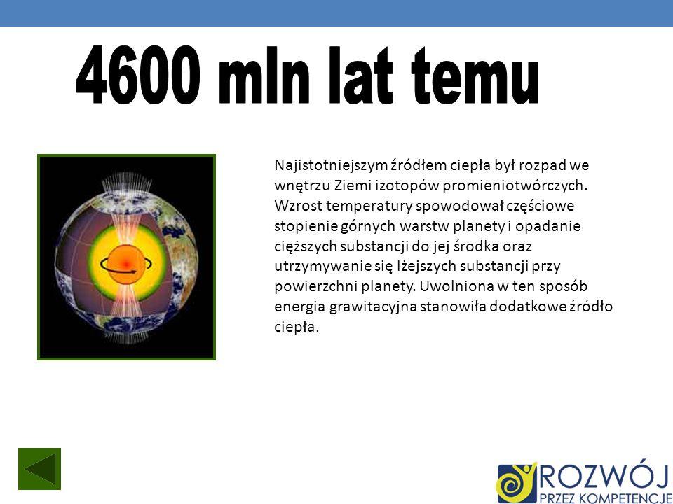 4600 mln lat temu