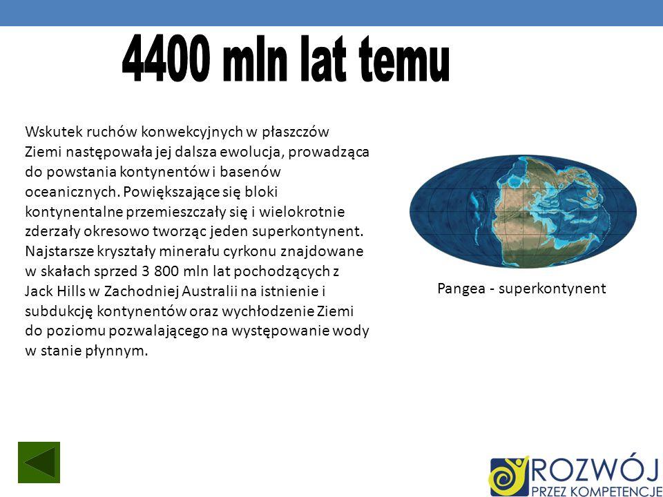 4400 mln lat temu