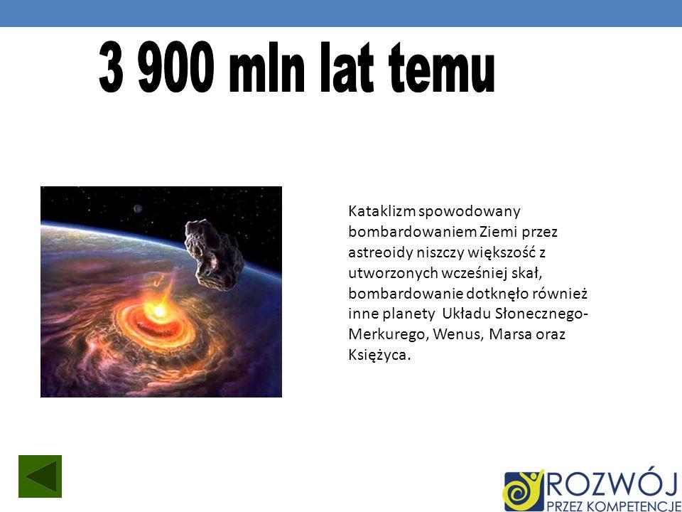 3 900 mln lat temu