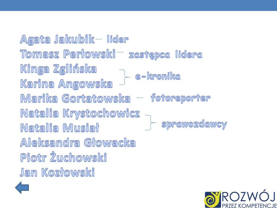 Natalia Krystochowicz Natalia Musiał Aleksandra Głowacka