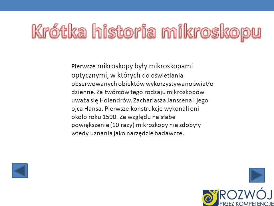 Krótka historia mikroskopu