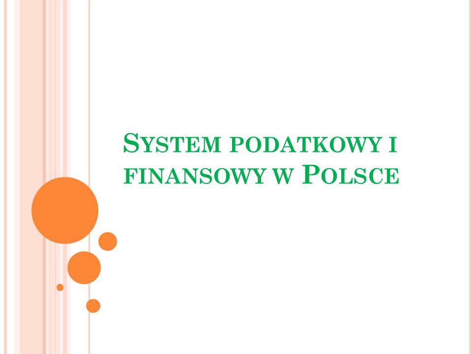 System podatkowy i finansowy w Polsce