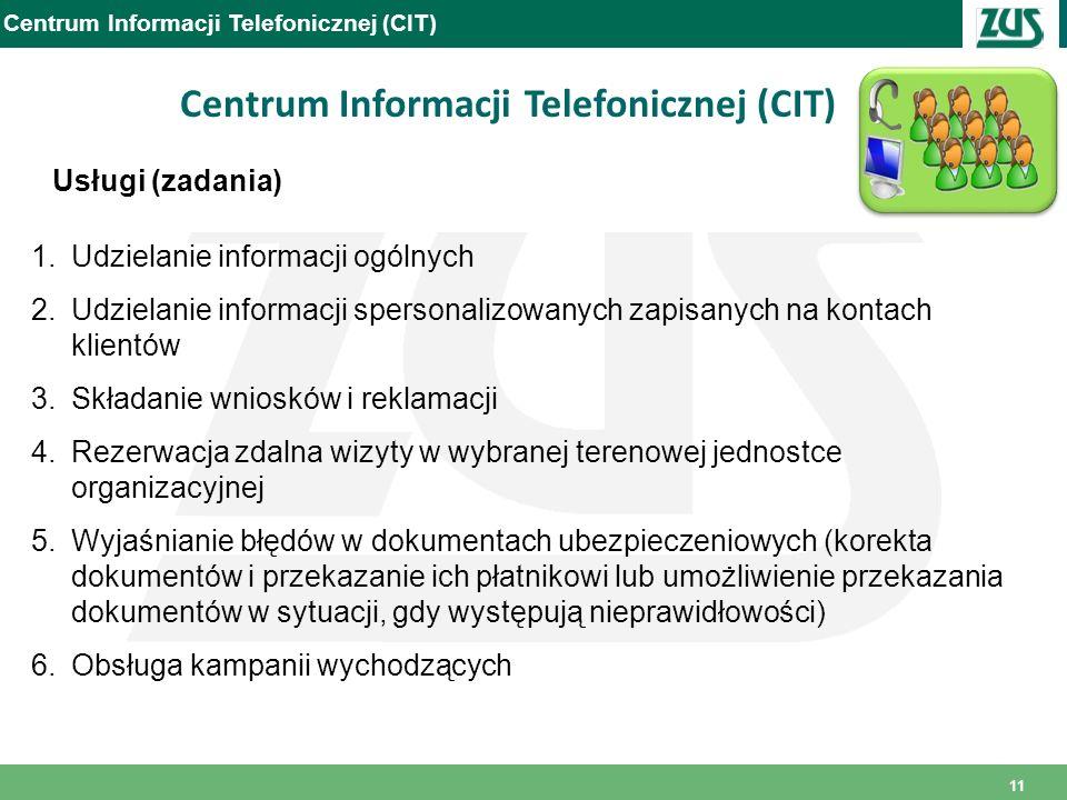 Centrum Informacji Telefonicznej (CIT)