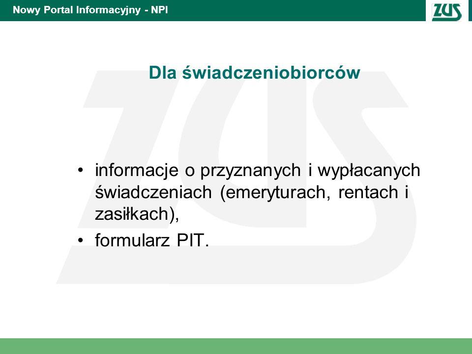 Nowy Portal Informacyjny - NPI