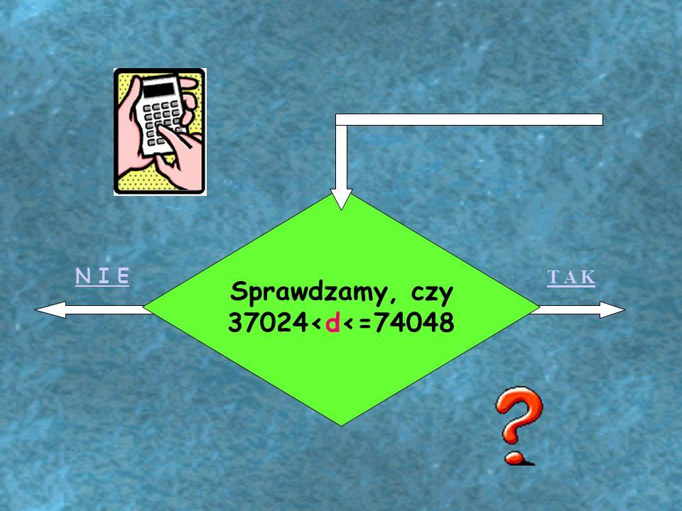 Sprawdzamy, czy 37024<d<=74048