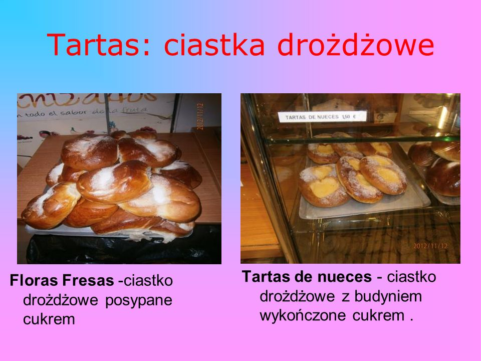 Tartas: ciastka drożdżowe