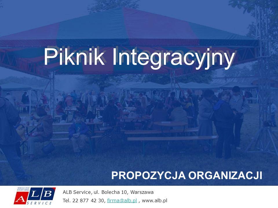 Piknik Integracyjny PROPOZYCJA ORGANIZACJI