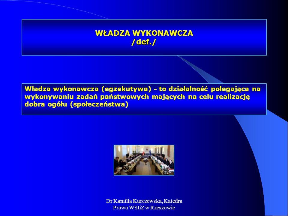 WŁADZA WYKONAWCZA /def./