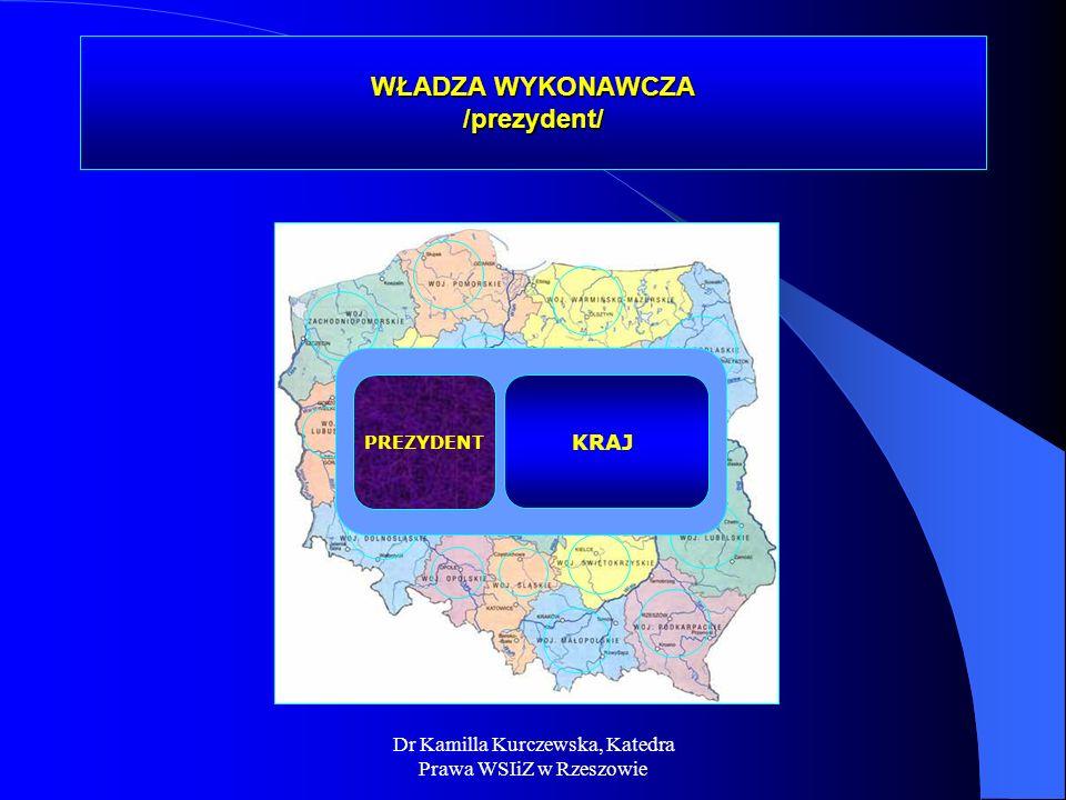 WŁADZA WYKONAWCZA /prezydent/