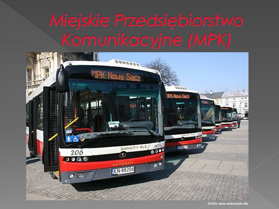 Miejskie Przedsiębiorstwo Komunikacyjne (MPK)