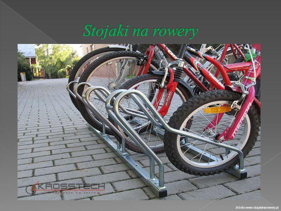 Stojaki na rowery źródło:www.stojakinarowery.pl