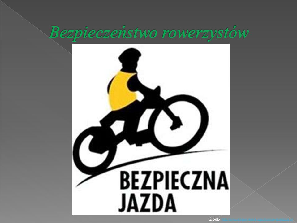 Bezpieczeństwo rowerzystów