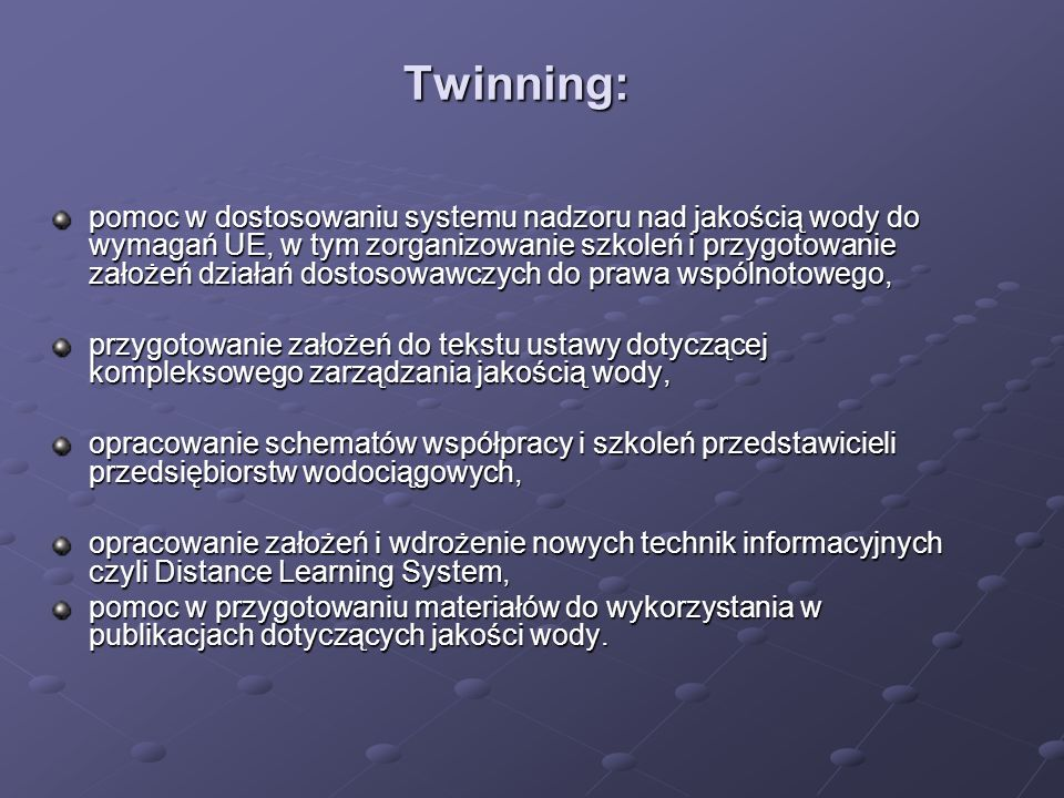 Twinning: