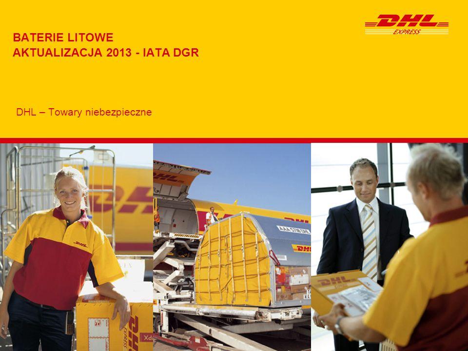 BATERIE LITOWE AKTUALIZACJA 2013 - IATA DGR