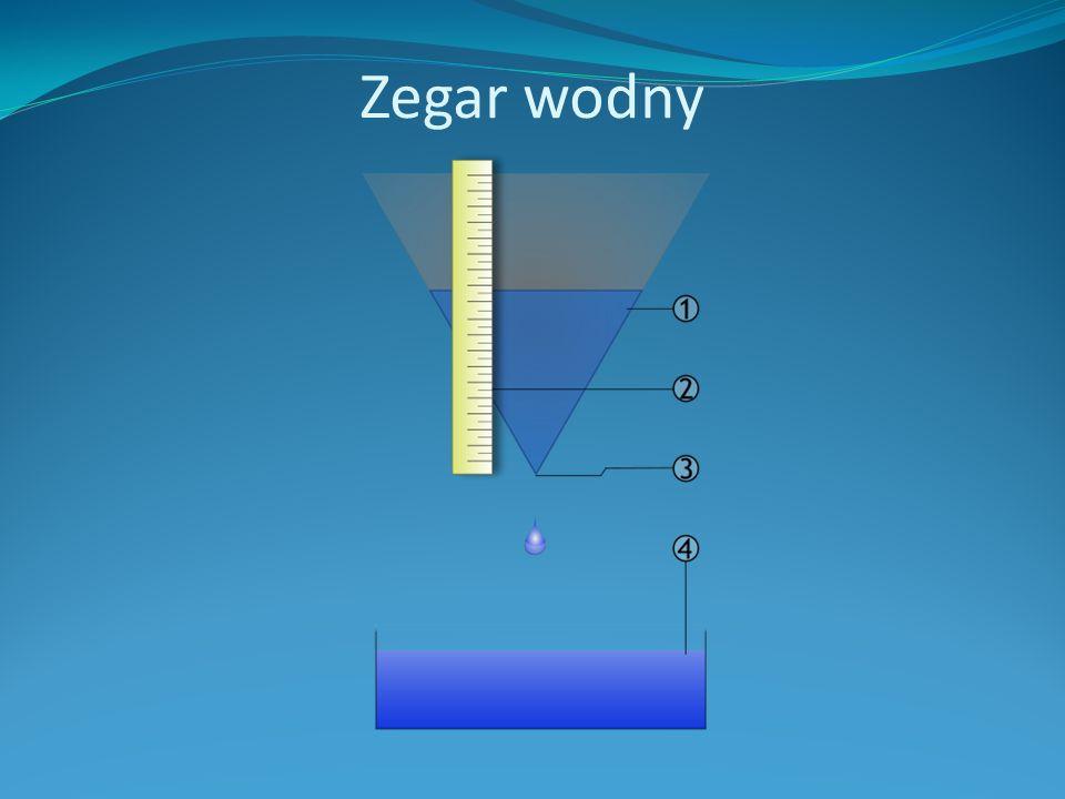 Zegar wodny