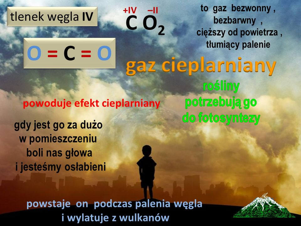 powoduje efekt cieplarniany powstaje on podczas palenia węgla