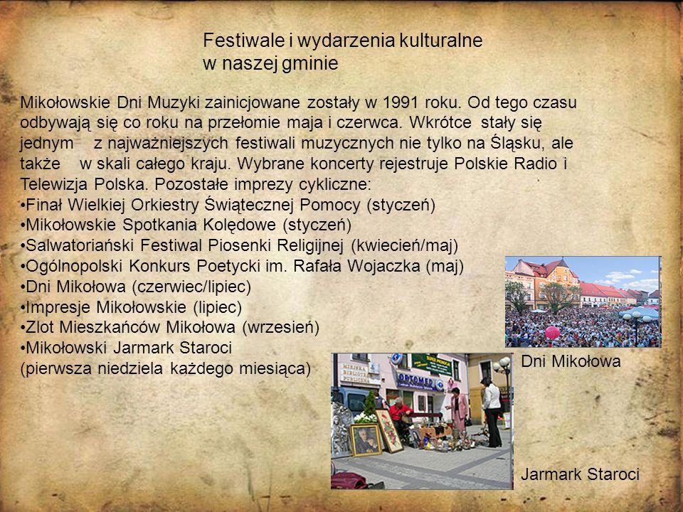 Festiwale i wydarzenia kulturalne w naszej gminie