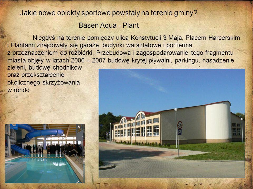 Jakie nowe obiekty sportowe powstały na terenie gminy