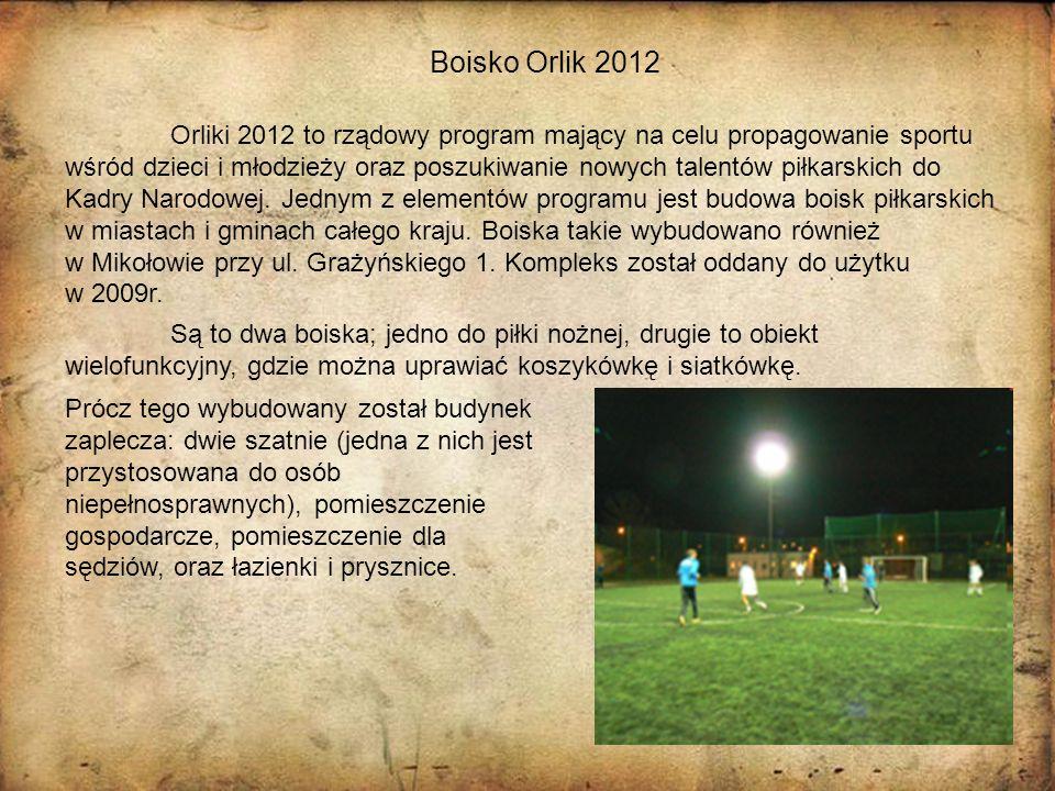 Boisko Orlik 2012