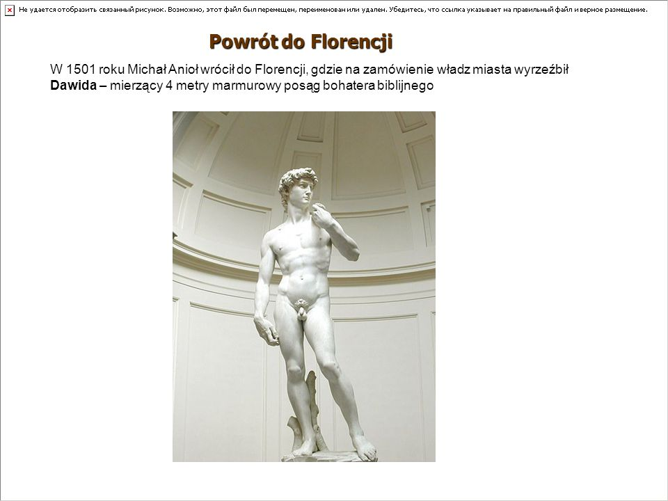 Powrót do Florencji