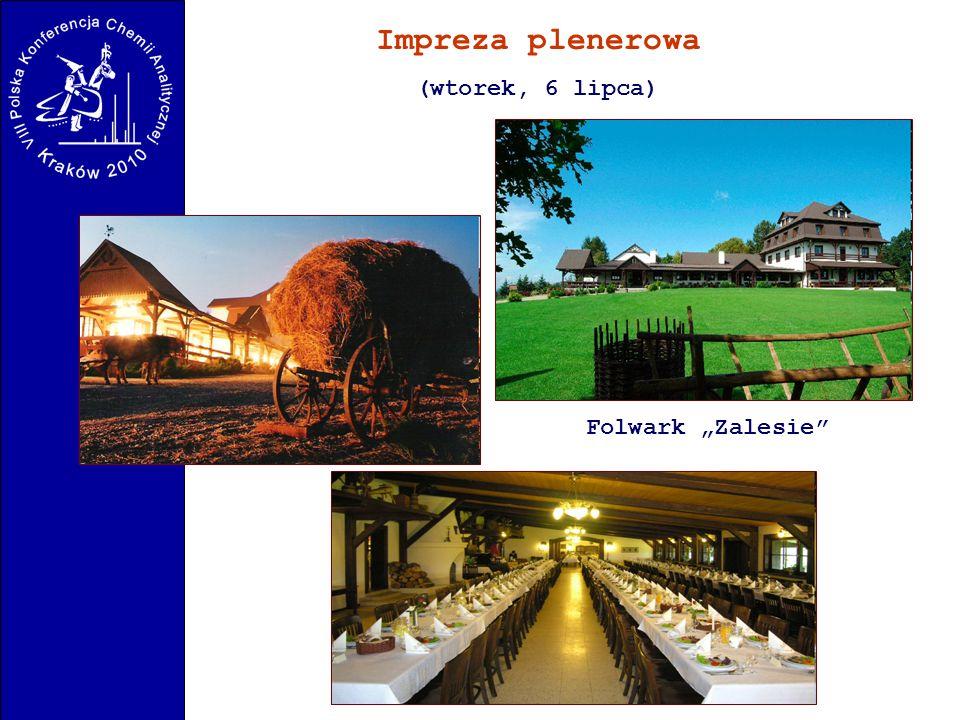 "Impreza plenerowa (wtorek, 6 lipca) Folwark ""Zalesie"