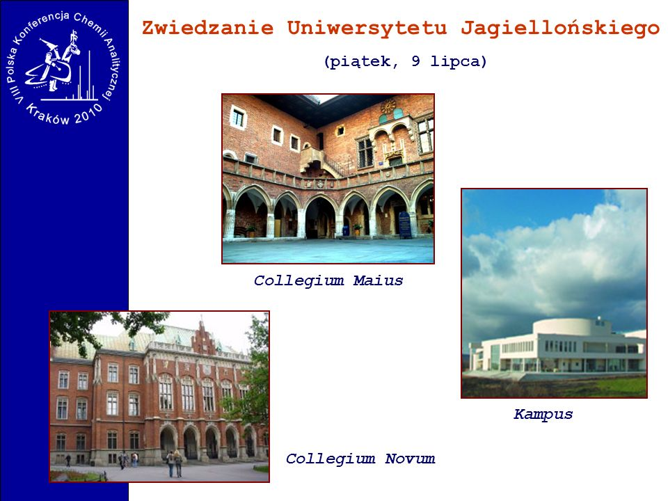 Zwiedzanie Uniwersytetu Jagiellońskiego
