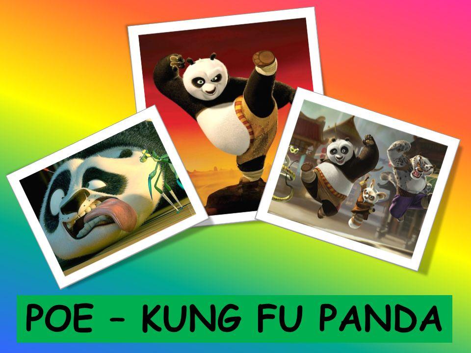 Jedyny miś Panda na świecie, który zna styl walki Kung – Fu.