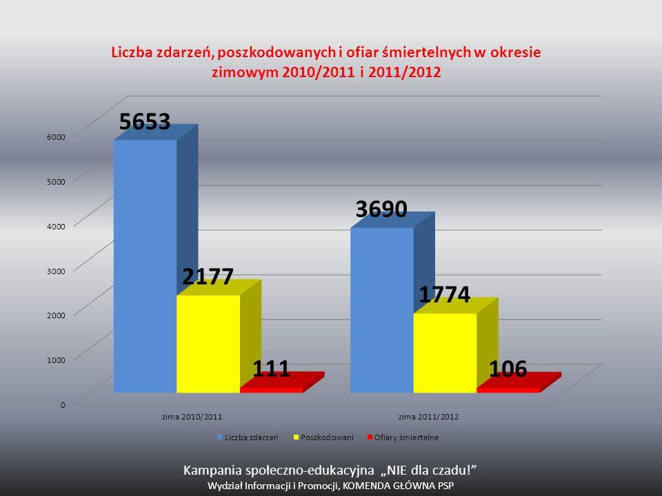 """Kampania społeczno-edukacyjna """"NIE dla czadu!"""