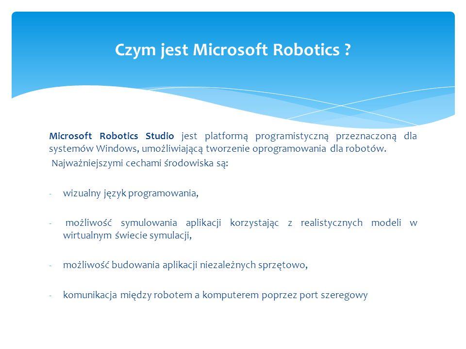 Czym jest Microsoft Robotics