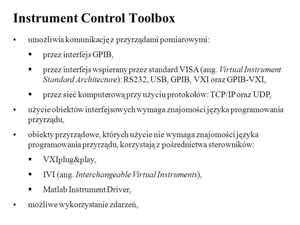 Instrument Control Toolbox